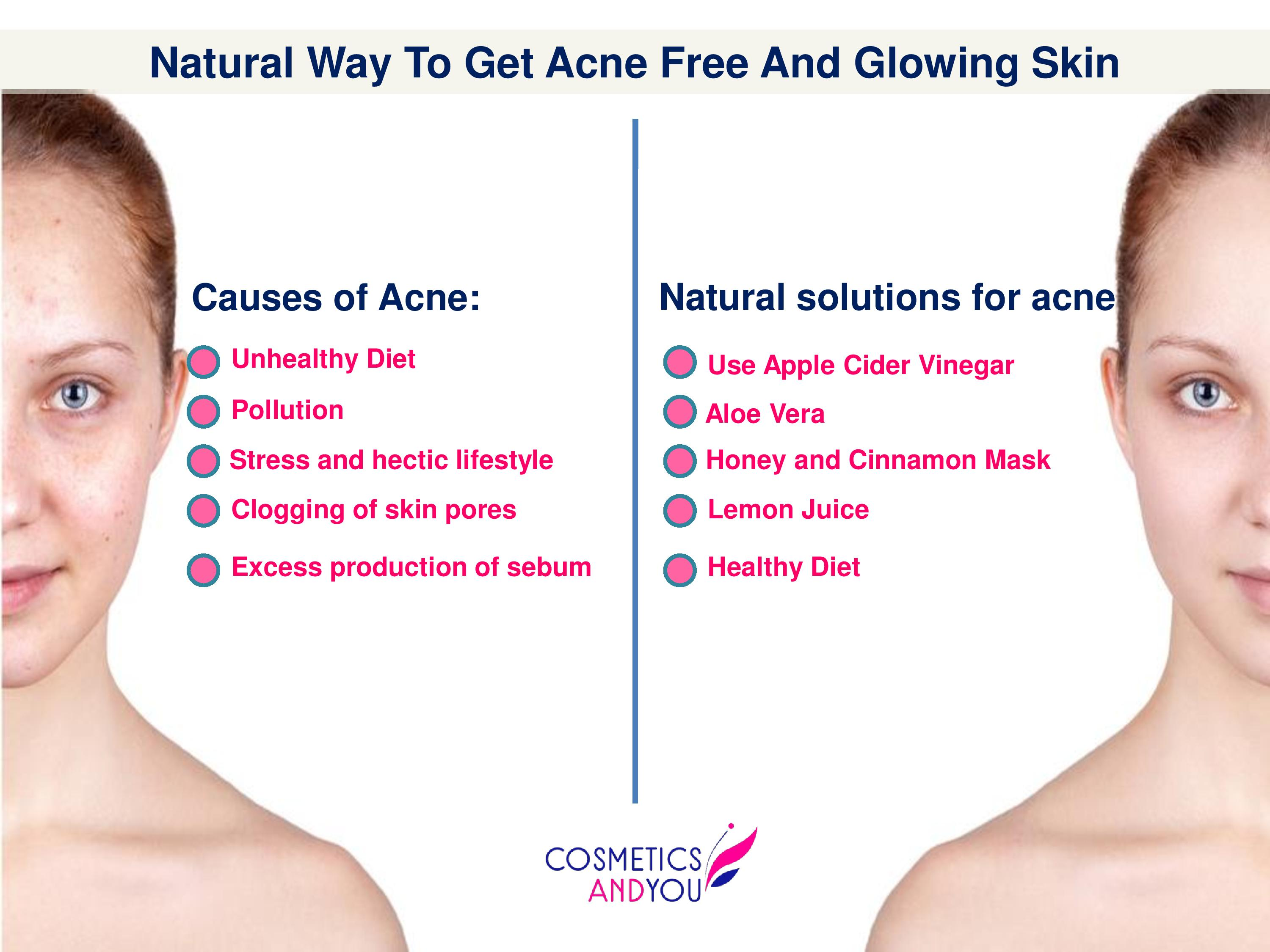 how to get acne free skin