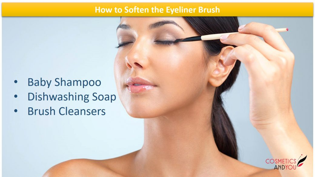 How to Soften the Eyeliner Brush