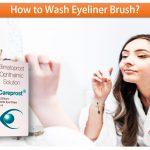 How To Wash Eyeliner Brush