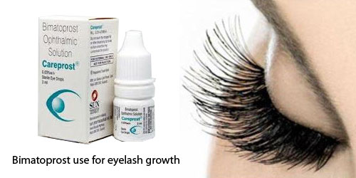 Bimatoprost Eye Drop for Eyelashes Growth